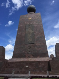 Mitad del Mundo--or the equator!