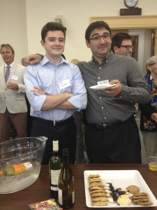 My co-interns at a consumer advocate party sponsored by the Committee on Energy and Commerce