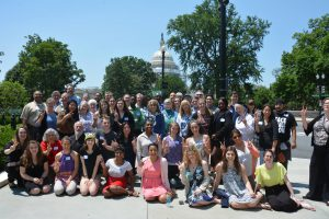 Peace Action delegates at the National Organizers Conference in Washington D.C.