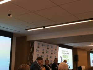 Panelists at the DC-Israel Water Summit discuss transboundary and off-grid water