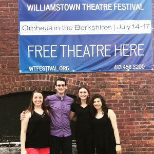 The Stage Management Team of Orpheus in the Berkshires.