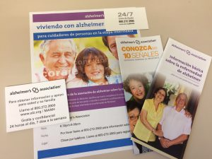Outreach materials in Spanish
