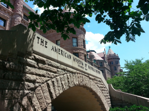 79th Street entrance to the museum