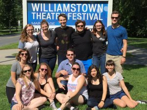 These are 13 out of 15 Stage Management interns. We all became extremely close throughout the summer.