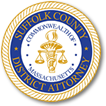 The district attorney's office logo