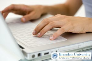 writing-laptop - Brandeis GPS Online Education - Brandeis GPS Blog
