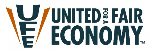 My First Week at UFE, United for a Fair Economy