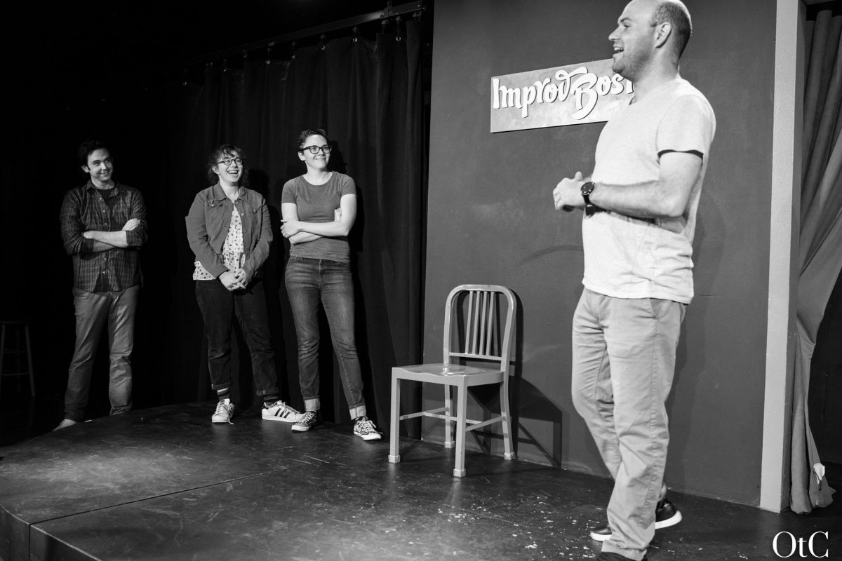 Week One at ImprovBoston